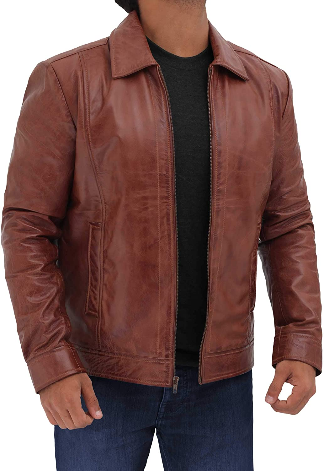 short jacket brown trench
