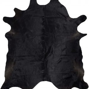 jet black cowhide rugs