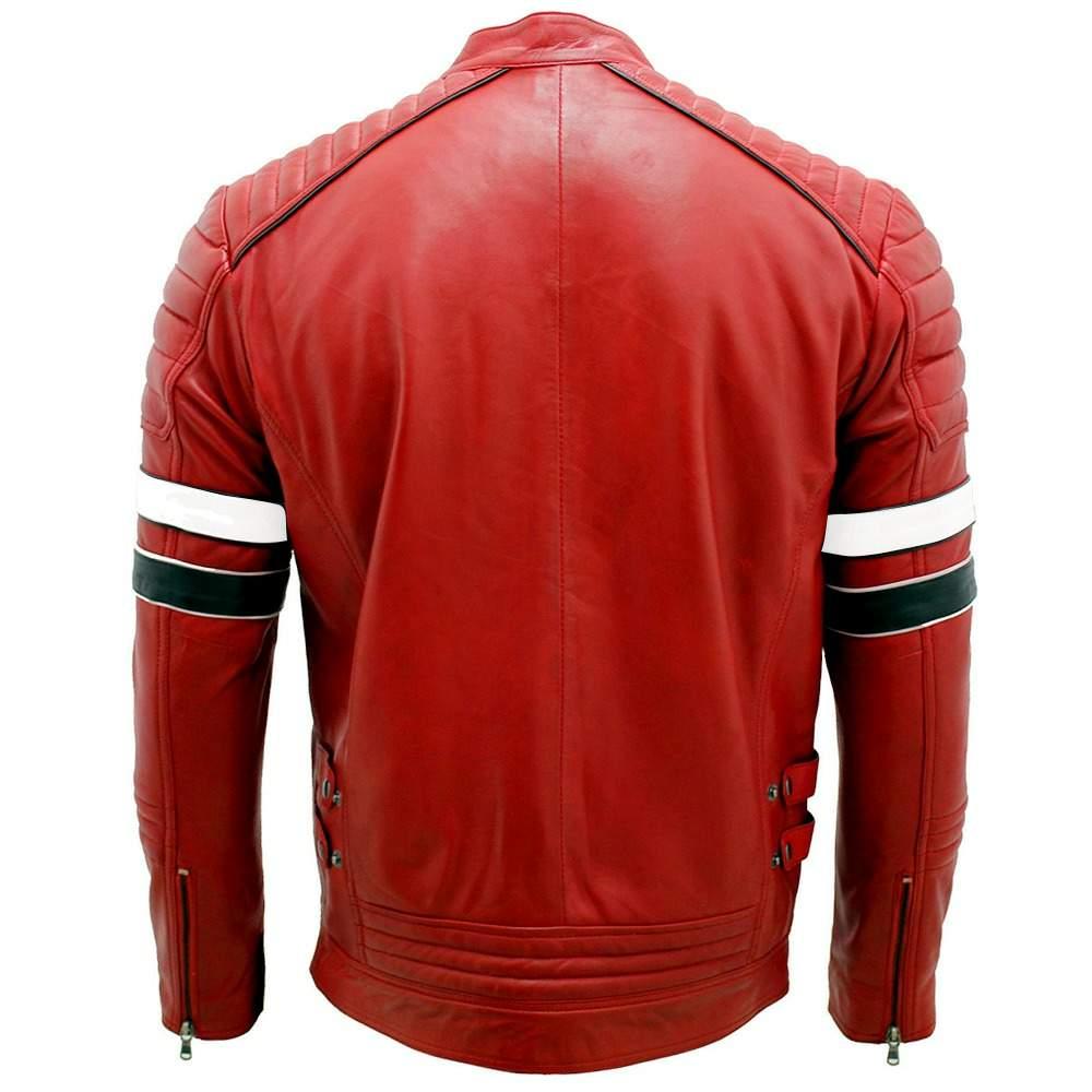 mayhem cafe racer retro motorcycle leather jacket