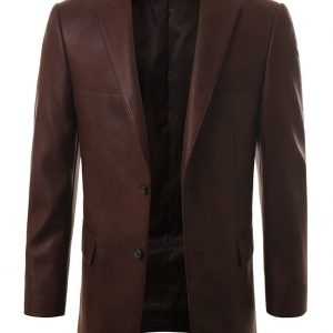 Men's Leather Blazers