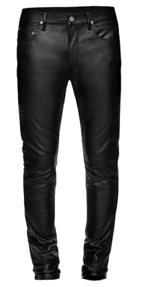 Leather-jean-pants