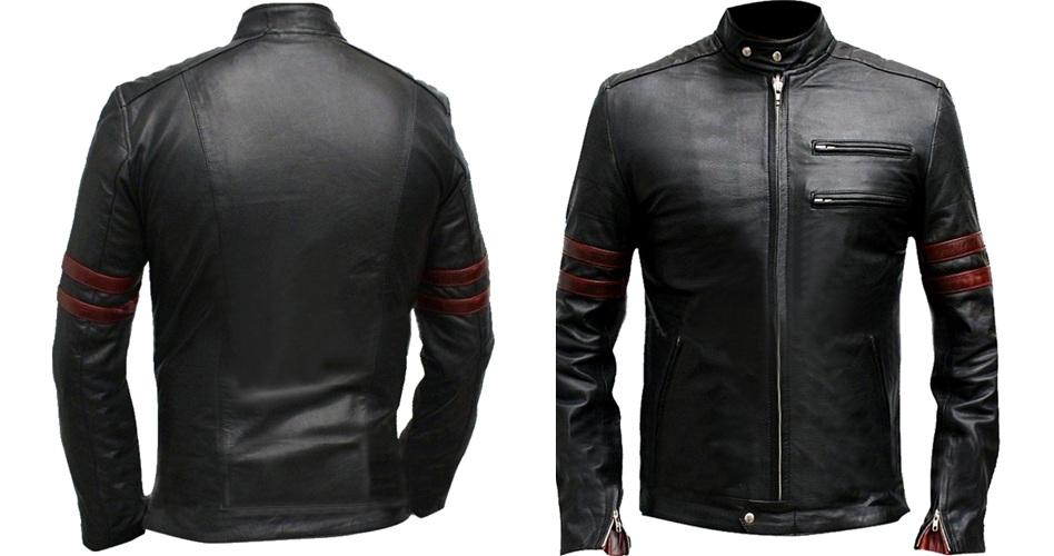 fight club mayhem leather jacket