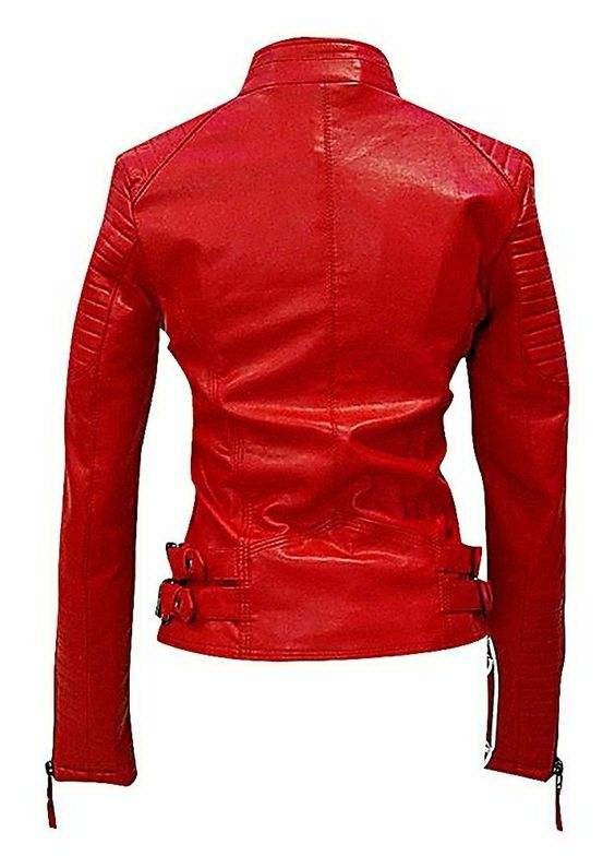 valentine womens red jacket